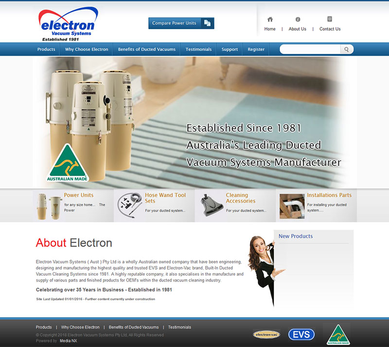 ELECTRON VACUUM SYSTEMS