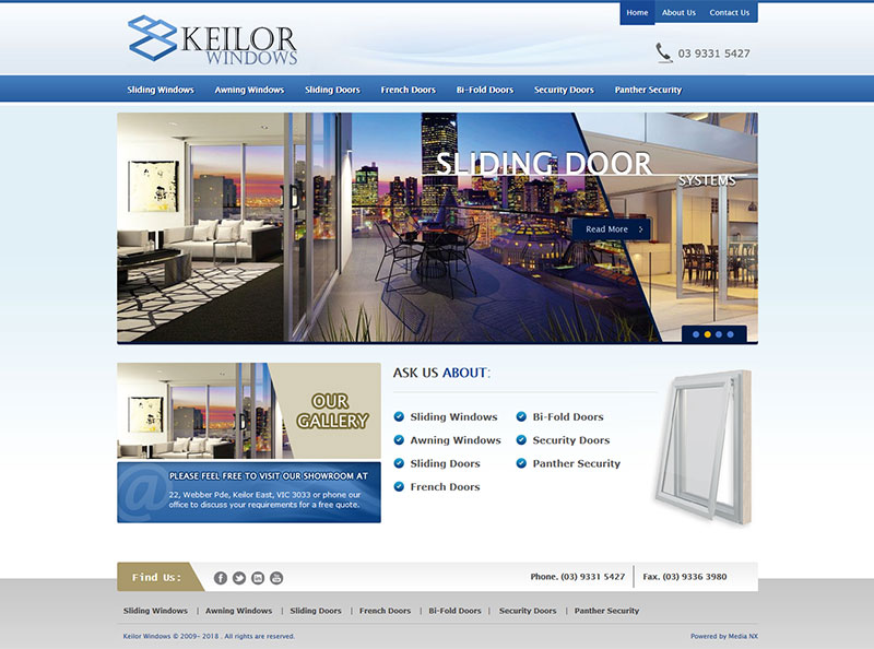 KEILOR WINDOWS