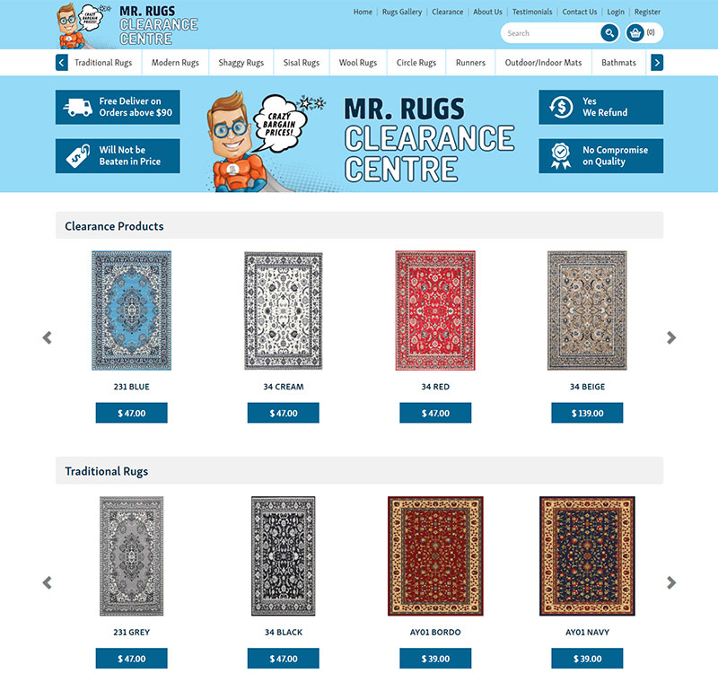 MR RUGS CARPETS