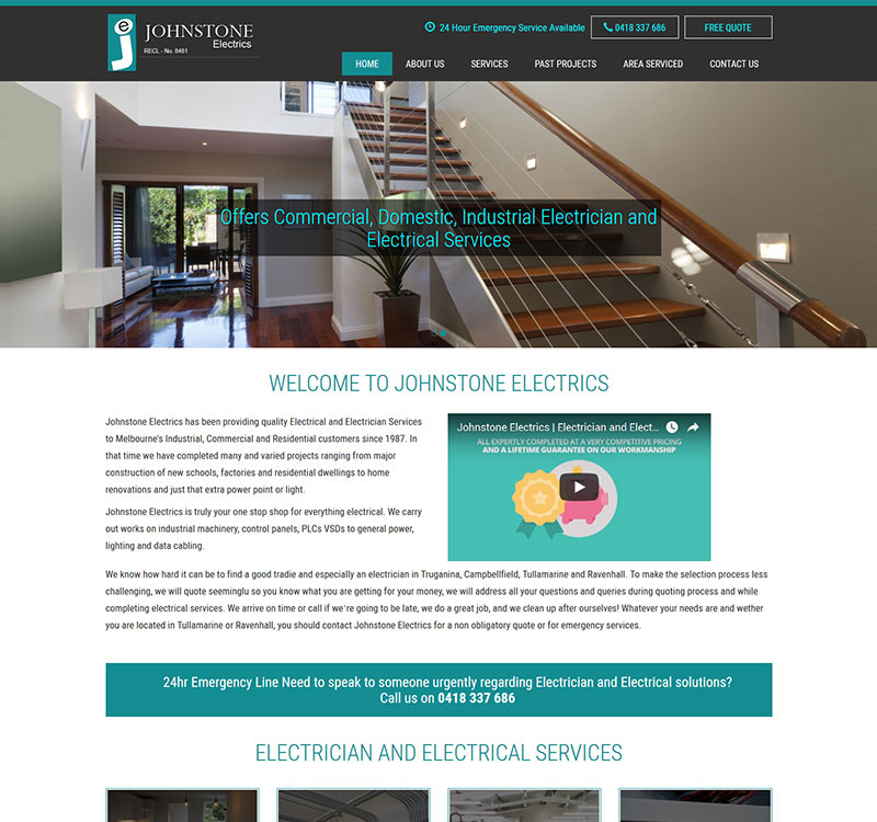JOHNSTONE ELECTRICS